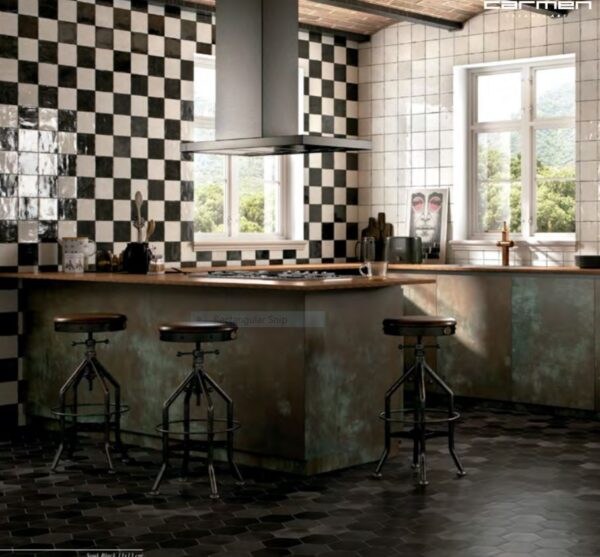 SOUK by Ape (Spain) | Black Pearl | Wall Tiles | Essendon | Sunbury | Melbourne | Luscombe Tiles