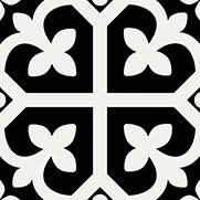 PEPPA SHAMROCK | Black | Floor Tiles | Melbourne | Essendon | Sunbury | Luscombe Tiles