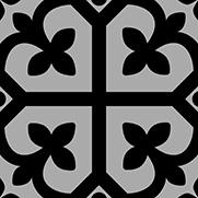 PEPPA SHAMROCK | Black Ash | Floor Tiles | Melbourne | Essendon | Sunbury | Luscombe Tiles