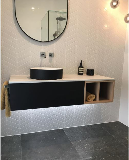 CHEVRON (LARGE) MOSAICS   Melbourne   Sunbury   Essendon   Luscombe Tiles