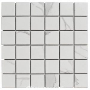 CARRARA SQUARE PORCELAIN MOSAICS | Tiles Melbourne | Sunbury | Essendon | Luscombe Tiles
