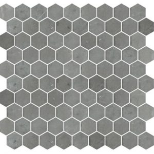 DECORATIVE STONE HEXAGONS | Pietra Grey | Italian - Honed Finish | Sunbury | Essendon | Melbourne | Luscombe Tiles