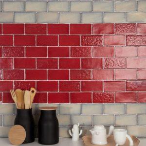 Moon | Red Moon | Wall Tiles | Sunbury | Melbourne | Essendon | Luscombe Tiles