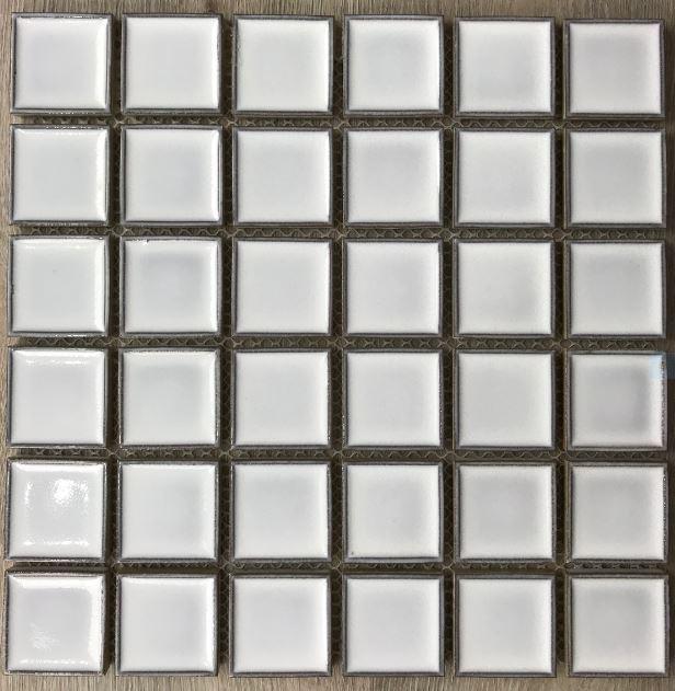 CONCAVE SQUARE MOSAICS   White Cloud   Feature Tiles   Sunbury   Essendon   Melbourne   Lsucombe Tiles