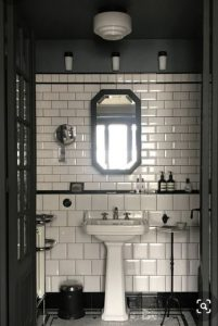 Period Tiles Ideas | Black & White Tiles | Melbourne | Essendon | Sunbury | Luscombe Tiles