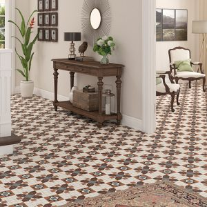 FEDERATION (SPANISH) BLAKENEY PATTERN | Floor Tiles | Melbourne | Essendon | Sunbury | Luscombe Tiles