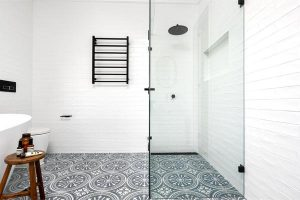 Woodend Home | Macedon Ranges | Tiles Supplied by Luscombe Tiles |