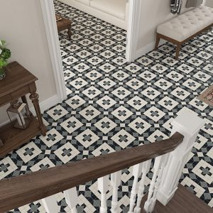 FEDERATION (SPANISH) HARROGATE PATTERN | Floor Tiles | Sunbury | Essendon | Melbourne | Luscombe Tiles