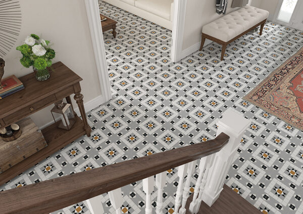 FEDERATION (SPANISH) KENDAL PATTERN | Floor Tiles | Sunbury | Essendon | Melbourne | Luscombe Tiles