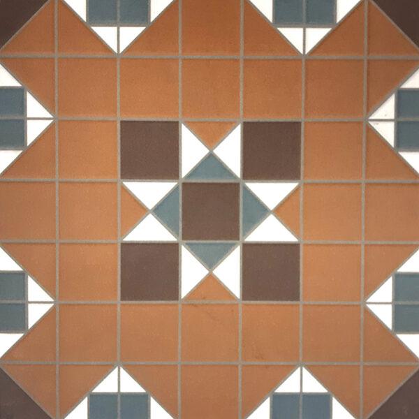 FEDERATION (SPANISH) YORK PATTERN | Floor Tiles | Sunbury | Essendon | Melbourne | Luscombe Tiles