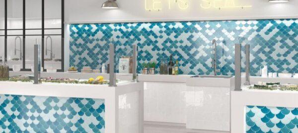GEMA FAN MOSAIC | Feature Tiles | Sunbury | Essendon | Melbourne | Luscombe Tiles