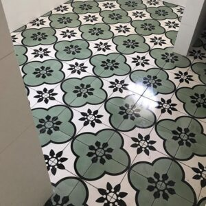 CORFU GREEN   Feature Tiles   Cement Tiles   Essendon   Sunbury   Melbourne   Luscombe Tiles