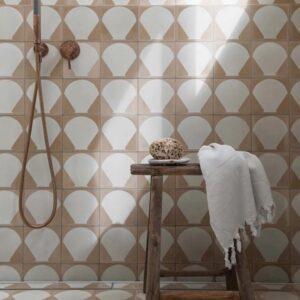 SCALLOP | Feature Tiles | Cement Tiles | Essendon | Sunbury | Melbourne | Luscombe Tiles
