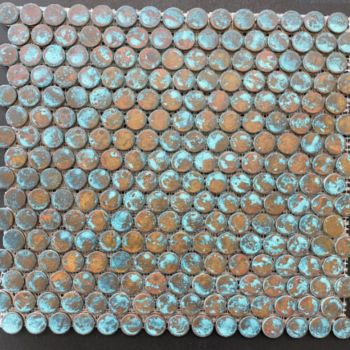 COPPER VERDE PENNY ROUNDS