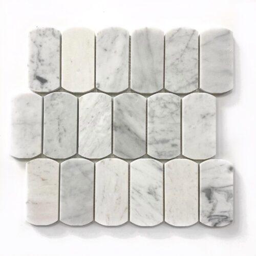 STONE ARC BIANCO Marble Mosaic